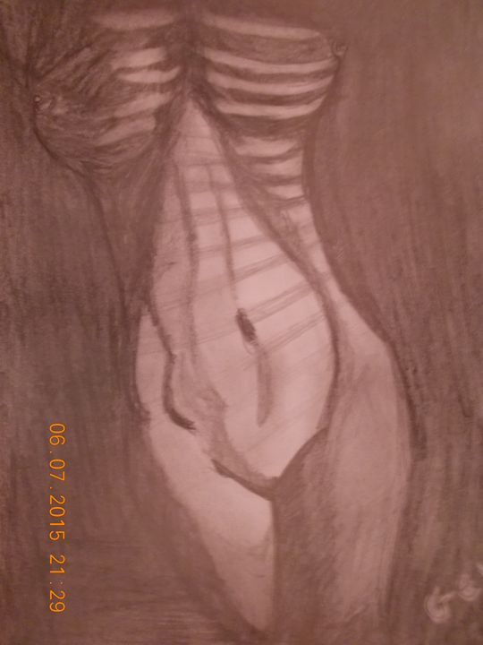 naked girl - Geko
