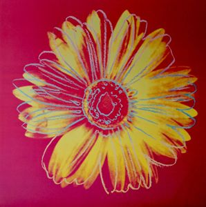 Warhol Flowers (Set of 2) Lithograph