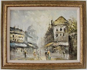 Oil Painting - Signed and Framed