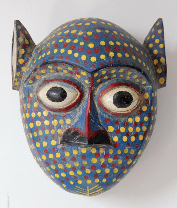 African Face Mask Sculpture - New York Art Scout