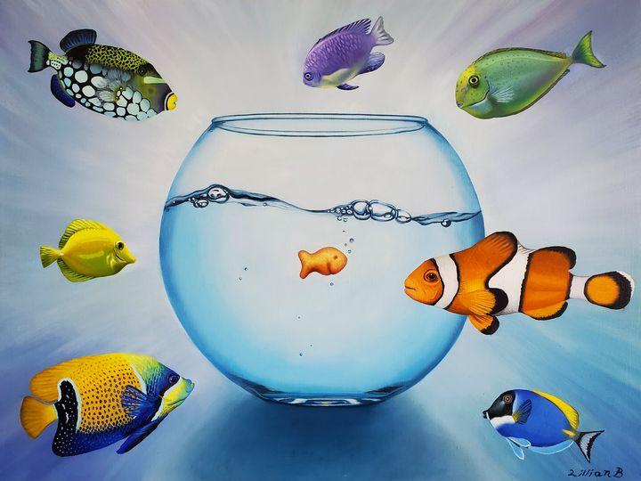The Goldfish of Truth - Lillian Anna Blouin
