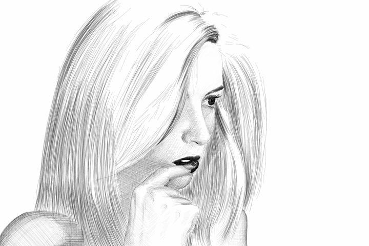 Woman Portrait #18 - Rudsky