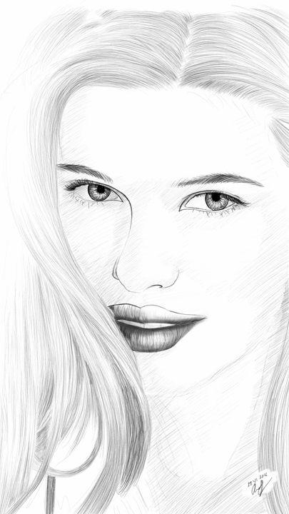 Woman Portrait #14 - Rudsky