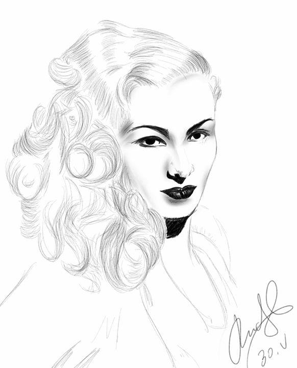 Woman portrait #01 - Rudsky