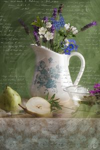 Lavender and Pear
