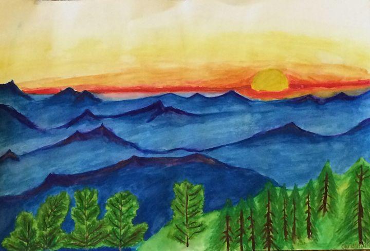 Beautiful landscape - Christopher Stefan's Art Gallery