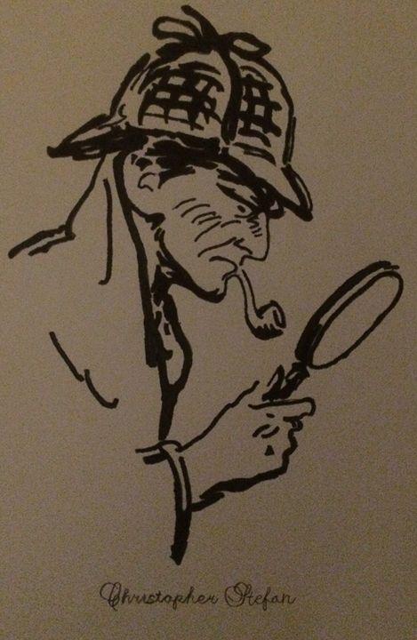 Sherlock Holmes - Christopher Stefan's Art Gallery