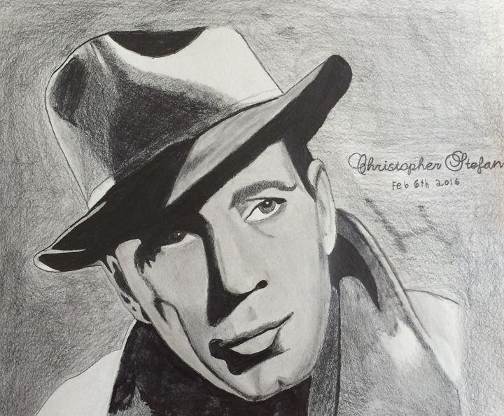 Humphrey Bogart - Christopher Stefan's Art Gallery