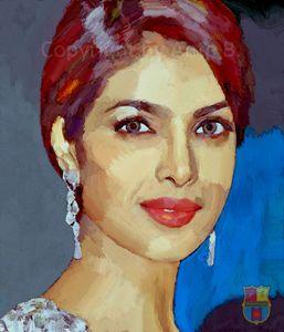 Priyanka Chopra - Portrait
