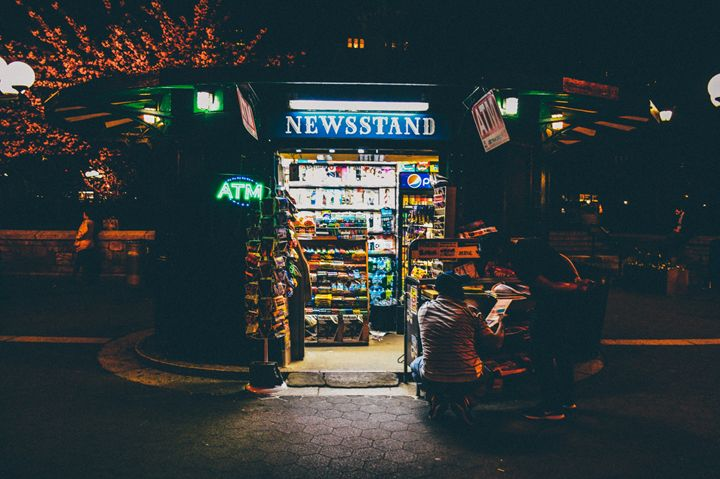 Newsstand - Sean Tracy