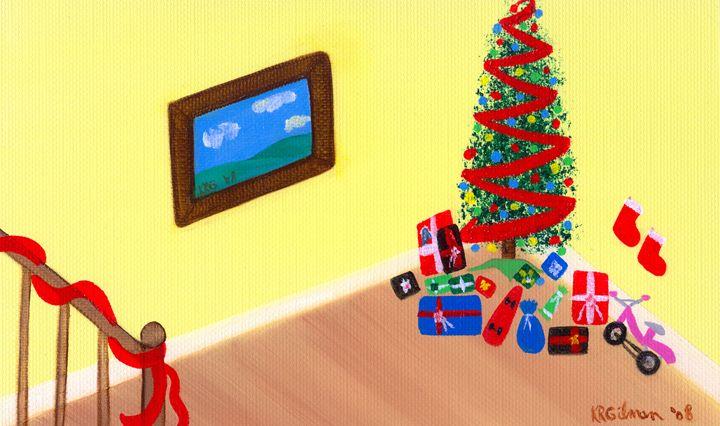 Presents Before Santa Came - KRGilman