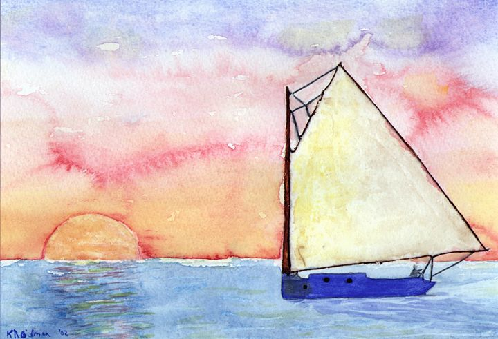 Sailing with the Sun - KRGilman