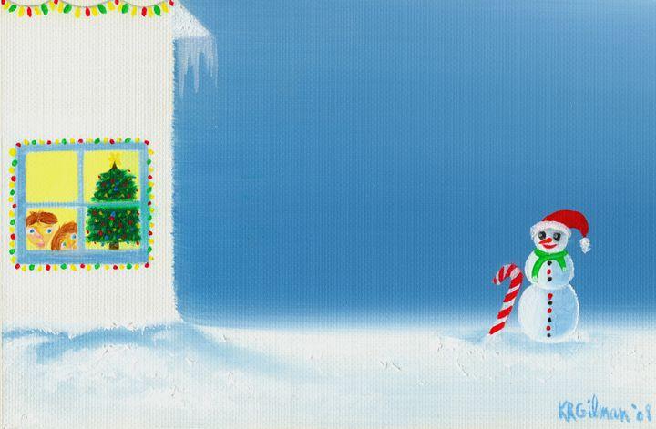 Christmas Window Peepers - KRGilman