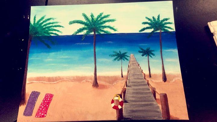 Beach - Hannah's Art