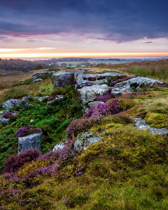Dawn at Shaftoe Craggs #2 - John Cox Photography and Fine Art
