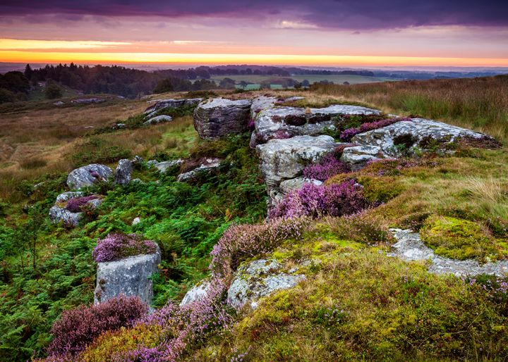 Dawn at Shaftoe Craggs #1 - John Cox Photography and Fine Art