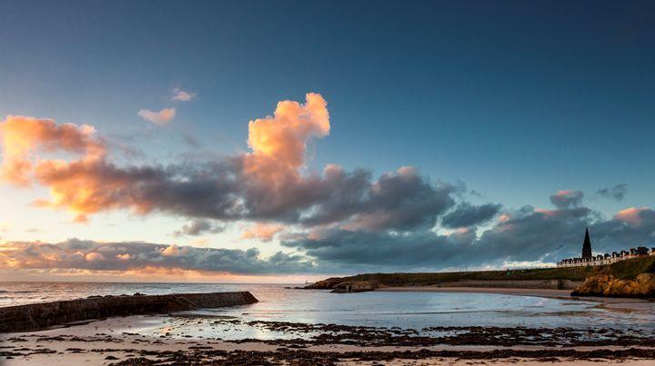 Dawn at Cullercoats Bay #3 - John Cox Photography and Fine Art