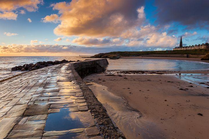 Dawn at Cullercoats Bay #2 - John Cox Photography and Fine Art