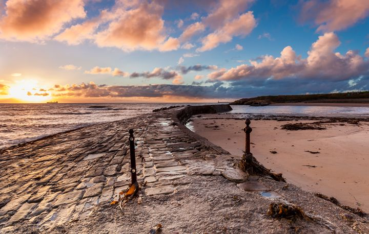 Sunrise at Cullercoats Bay #2 - John Cox Photography and Fine Art