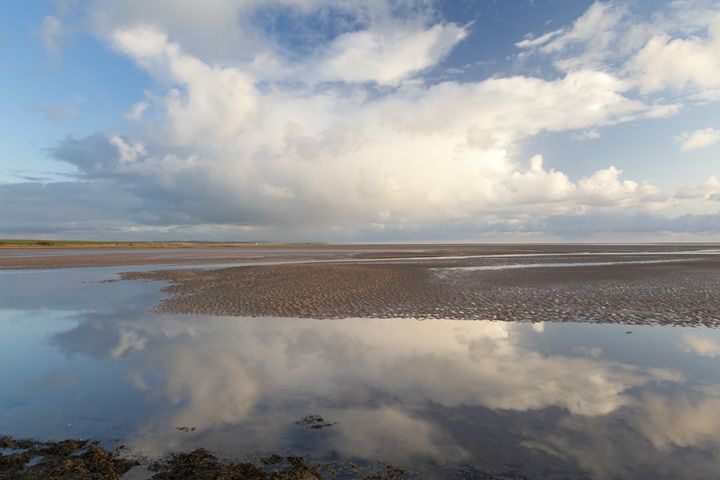 Holy Island reflections. - John Cox Photography and Fine Art