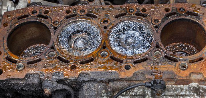 Engine Block #2 - John Cox Photography and Fine Art