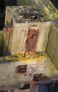 Old wood and metal #2.