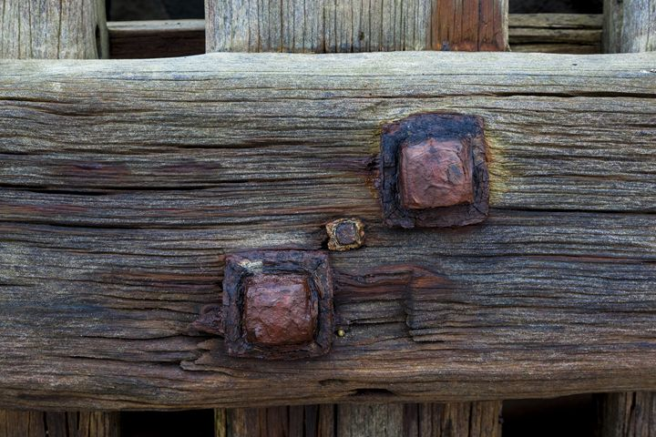 Old wood and metal. - John Cox Photography and Fine Art