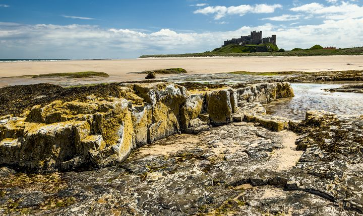 Bamburgh Castle, - John Cox Photography and Fine Art