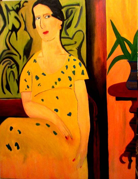 Lady in Yellow Dress - PRACHI VIJAY
