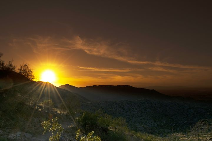 Desert Sunset - MMR_Photography