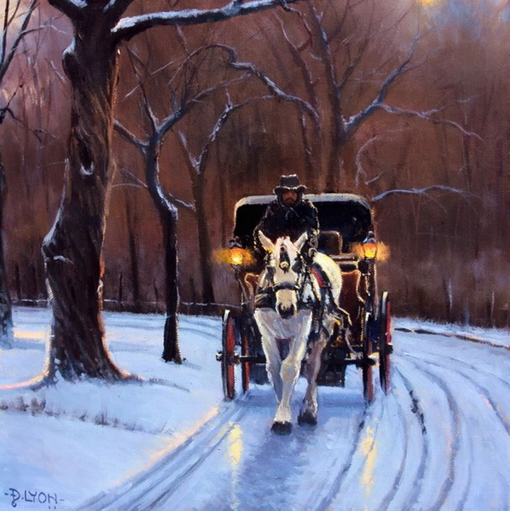 CENTRAL PARK #2 - DLYON-ART