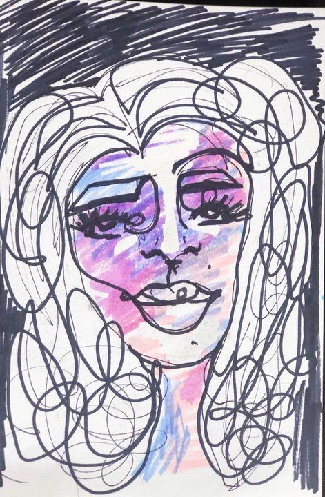 Scribble girl - M.Macklin