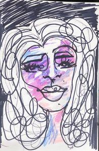 Scribble girl