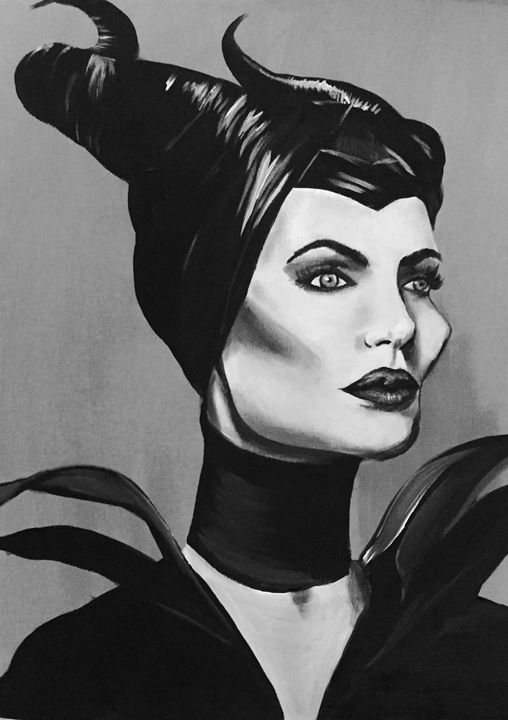 Maleficent - Caylan Myers Gallery