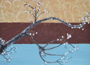 Cherry Blossoms - art