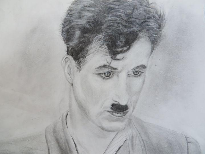 Portrait of Charlie Chaplin - Ri Ri