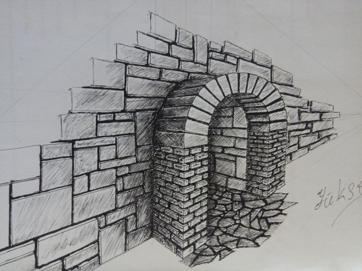 wall - my drawings