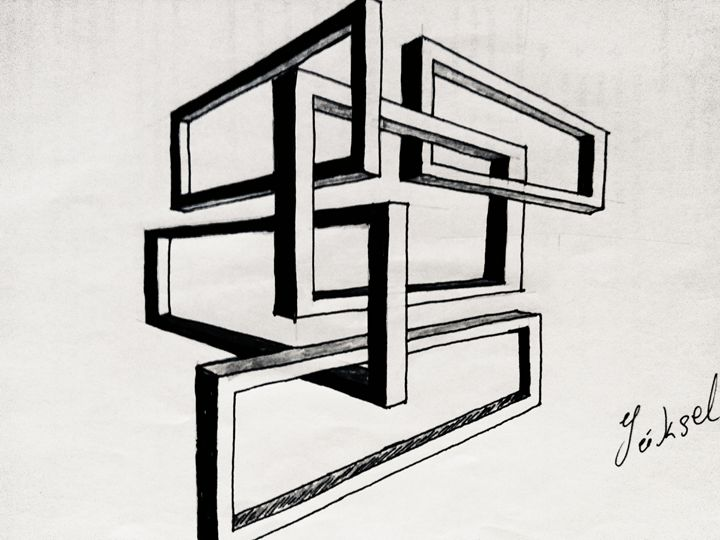 abstract - my drawings