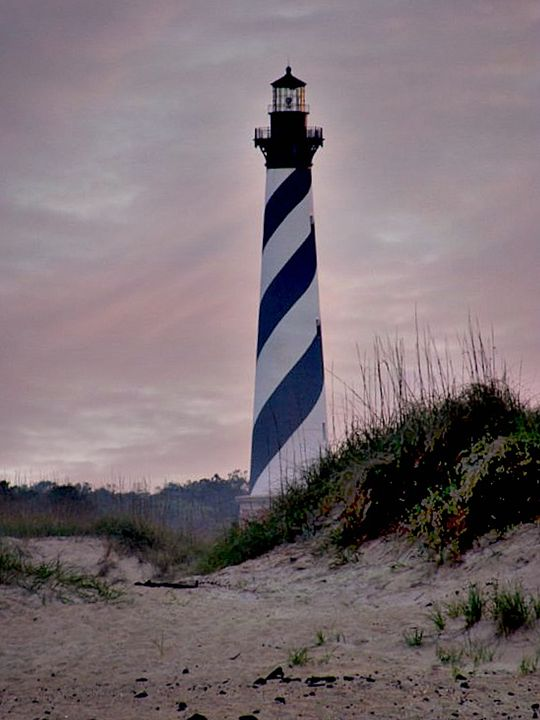 Hatteras Lighthouse - The Farmers Wife Art