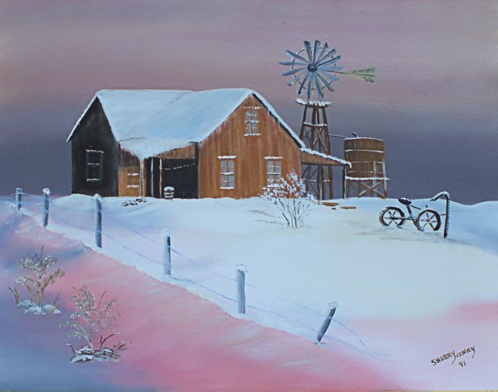 The Wind Mill - The Farmers Wife Art