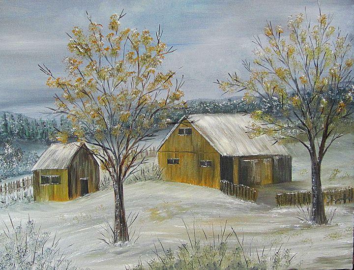 Early Snow - The Farmers Wife Art