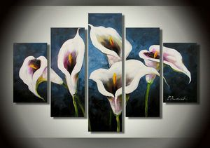 5 in 1 piece calla lilies