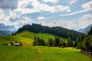 Italian valleys in the summer