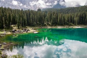 Carezza Lake (Italy)