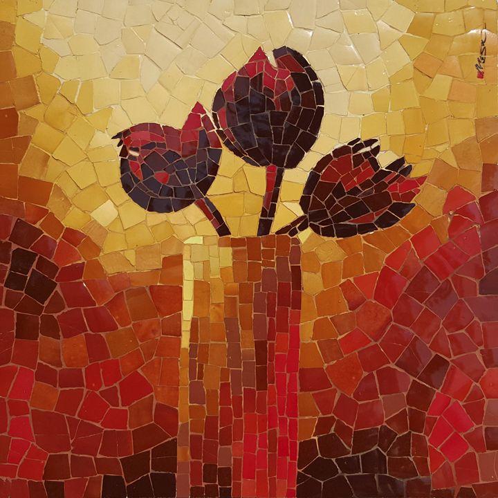 Red Lotus - Mai Nhon