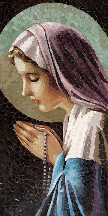 The Virgin In Prayer - Mai Nhon