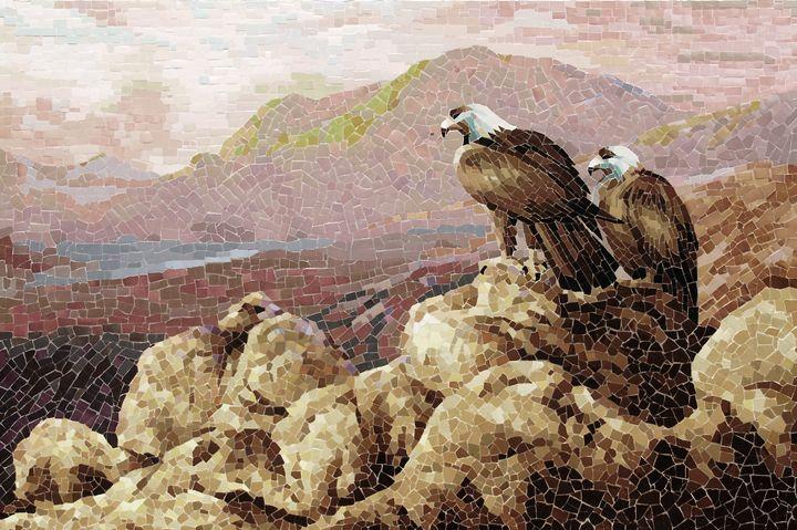A Couple Of Eagle In The New Land - Mai Nhon