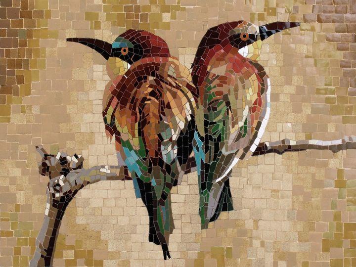 A Couple Of Birds - Mai Nhon