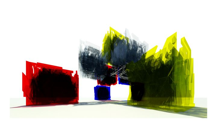 Red Yellow Blue - 2 - Clover Gallery