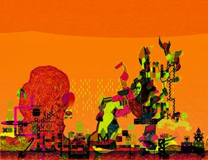 Orange Morning - Clover Gallery